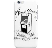 Arcade gamers - Vintage club iPhone Case/Skin