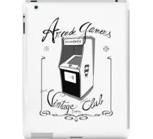 Arcade gamers - Vintage club iPad Case/Skin