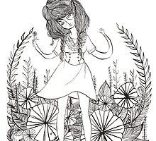 Flower Girl by katmartin