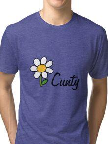 Cunty flower Tri-blend T-Shirt