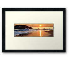 Sunset In Brookings Framed Print