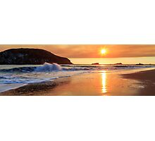 Sunset In Brookings Photographic Print