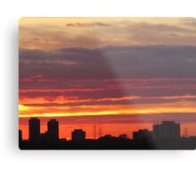 West Side Story  Rumble Sunset Metal Print