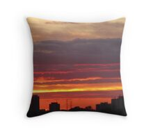 West Side Story  Rumble Sunset Throw Pillow
