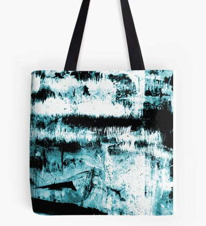 Blue Abstraction Tote Bag