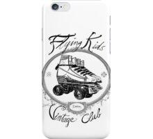 Flying Kids - Roller Vintage iPhone Case/Skin