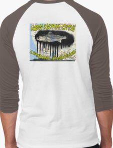 NYC urban fishing Men's Baseball ¾ T-Shirt
