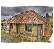 Beyers Cottage - Hill End , NSW Australia - The HDR Experience Poster