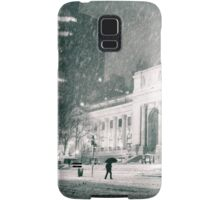 Winter Night - 5th Avenue - New York City Samsung Galaxy Case/Skin