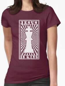 JESUS IS KING - WHITE T-Shirt