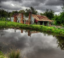 Be It Ever So Humble - Hill End , NSW Australia - The HDR Experience by Philip Johnson