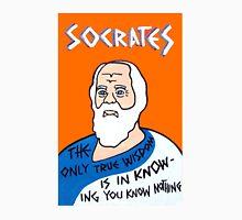 Socrates Pop Folk Art Unisex T-Shirt