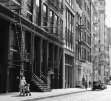 New York City Street - Soho Sticker