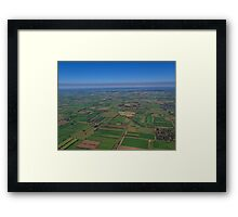 Invergordon Farmlands Framed Print
