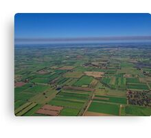 Invergordon Farmlands Canvas Print
