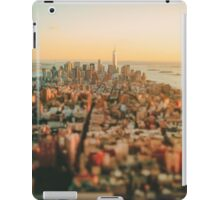 New York City - Skyline at Sunset iPad Case/Skin