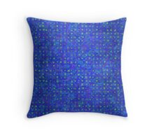 Intergalactic Lily Pond Throw Pillow