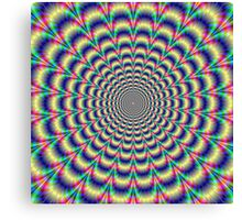 Psychedelic Pulse Canvas Print