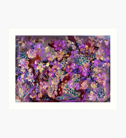 Lovely Lavender Art Print