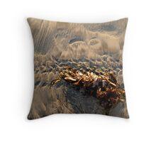 san diego seaweed Throw Pillow