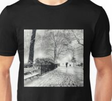 Winter Night - Madison Square Park - New York City Unisex T-Shirt