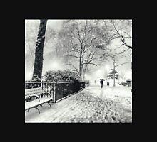 Winter Night - Madison Square Park - New York City Unisex T-Shirt