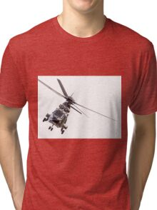 Swiss Cougar helicopter T-340 Tri-blend T-Shirt