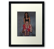 """ Weight Lifting "" Framed Print"