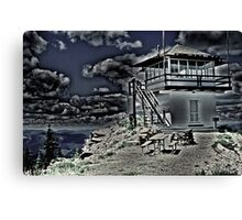 Little Guard Lookout Tower Canvas Print