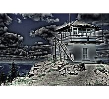 Little Guard Lookout Tower Photographic Print