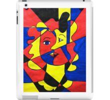 Elementary Cubism iPad Case/Skin