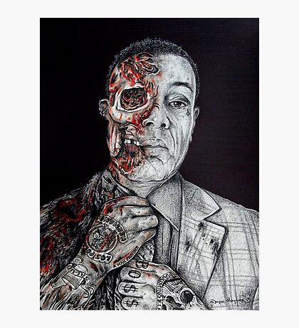 Breaking Bad Gus Fring as Gangster Photographic Print