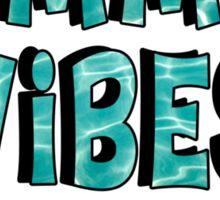 Summer Vibes waves Sticker