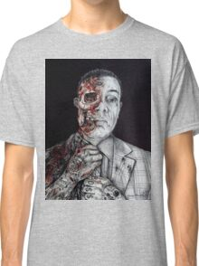 Breaking Bad Gus Fring as Gangster Classic T-Shirt
