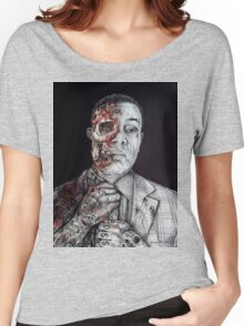Breaking Bad Gus Fring as Gangster Women's Relaxed Fit T-Shirt