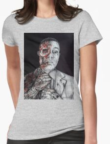 Breaking Bad Gus Fring as Gangster Womens Fitted T-Shirt