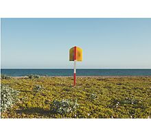 Lifering at Carnsore Point, Wexford, Ireland Photographic Print