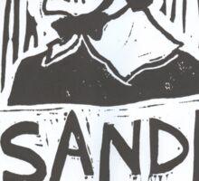 """Anne """"Misandry""""  Hutchinson Sticker"""