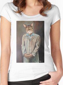 The Buster Women's Fitted Scoop T-Shirt