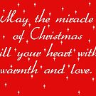 Christmas Card design by Bernie Stronner