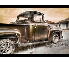 Ford V8 Old Timey-Look HDR Photographic Print