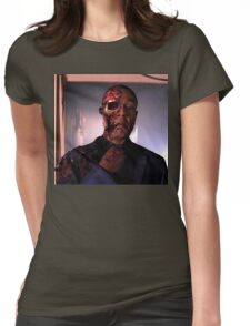 Breaking Bad Gus Fring Final Scene Womens Fitted T-Shirt