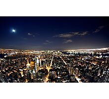 NYC from Empire State Building Photographic Print