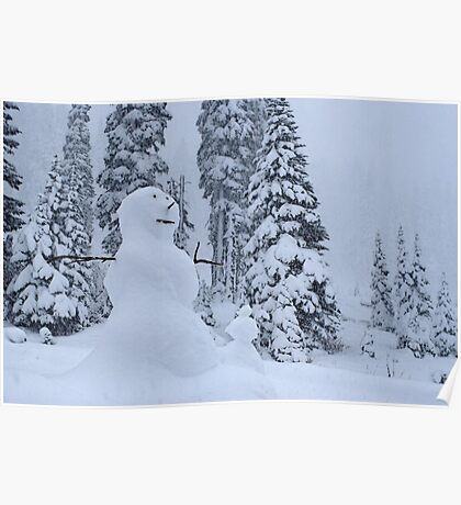 Snowman's Paradise Poster