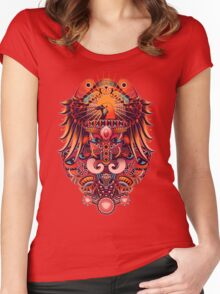 The Beauty of Papua Women's Fitted Scoop T-Shirt