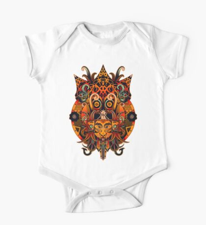 Dayak Tribe of Borneo One Piece - Short Sleeve