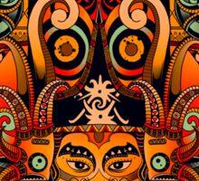 Dayak Tribe of Borneo Sticker