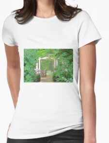 Meet Me At The Gazebo Womens Fitted T-Shirt
