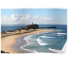 Nobbys Headland - Newcastle, NSW Poster