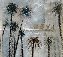 St Kilda Palm trees . by Michele Meister